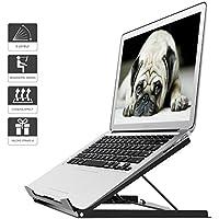 1home Supporto per Notebook Laptop inclinabile Tablet MacBook Pieghevole Ergonomico Stand per PC Portatile Angolo Regolabile Fino a 17 Pollici …