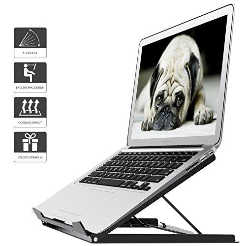 1home Support Réglable pour Ordinateur Portable Tablette MacBook Ergonomique Portable