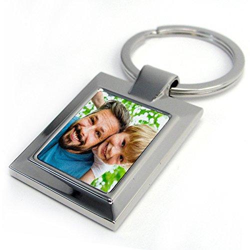 Llavero metálico Personalizado con Foto