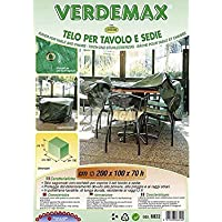 Verdemax 6822rettangolare cm 200x 100x 70, per tavolo e sedie