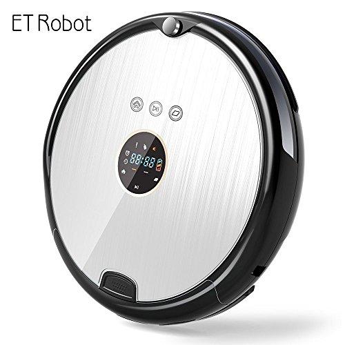 ET Robot Robot Aspirador Programable Ultrafino con Mopa(7.8cm de aspiradora Aspiradora Robot y (optimizado para el pelo de animal) Robot de Limpieza y MOP con Hepa R8-A