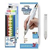 3Doodler 8CPSGYEU3E Create+ 3D-Druck Stift-Set mit 75 Filamenten, Grau