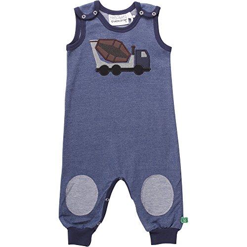 Fred\'s World by Green Cotton Baby-Jungen Spieler Work Denim Romper, Blau 019402601, 80