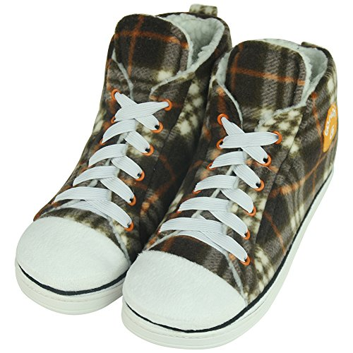 Gohom , Herren Hausschuhe Lattice Brown