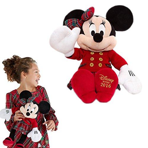 DISNEY MINNIE MAUS KUSCHELTIER IN WEIHNACHTLICHEM OUTFIT 48 CM PLUSH (Minnie Maus Outfit)