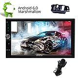 7 '2 DIN Android 6.0 Autoradio Eincar HD 1080P GPS Touchscreen Quad Core di navigazione radio AM FM RDS supporto WIFI 3G / 4G SD USB OBD Bluetooth Phone Mirroring microfono esterno Reverse Fotocamer