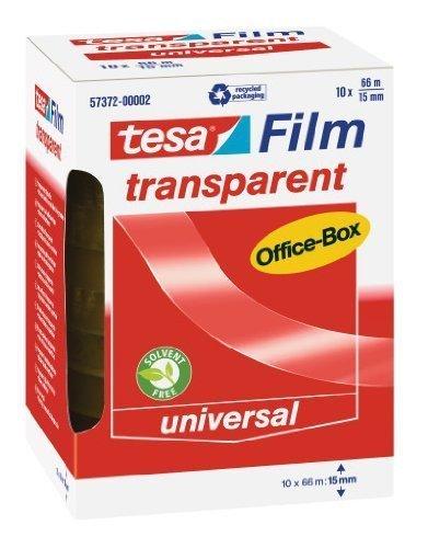 tesafilm-klebeband-transparent-office-box-mit-10-rollen-66m-x-15mm