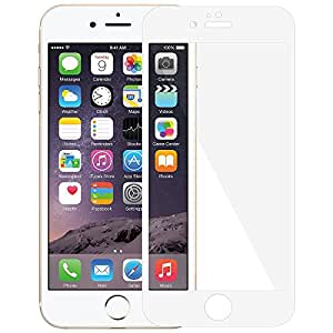 Amzer 97472 Kristal Edge2Edge White Screen Protector for Apple iPhone 6 / 6S