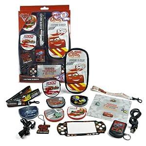 BG Games Cars 2 Kit – Spielcomputertaschen u. Zubehör (Schwarz, Multi, Rot, Weiß)