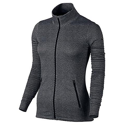 Nike 846422-010 Veste Femme, Noir/Noir, FR : XL (Taille Fabricant : XL)