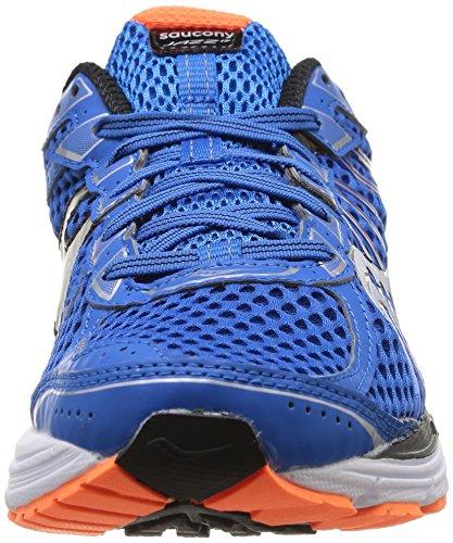 Saucony Jazz 17, Scarpe sportive, Uomo Multicolore (Blue/Black/Orange)