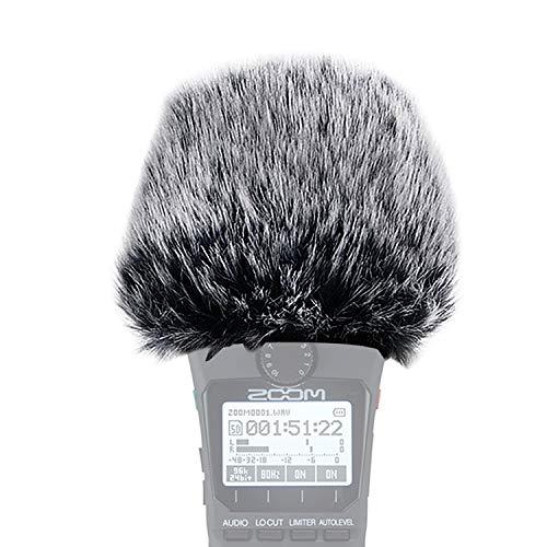 YOUSHARES H1n parabrezza peloso-Outdoor parabrezza parabrezza come filtro pop personalizzato adatta per Zoom H1n Handy Recorder