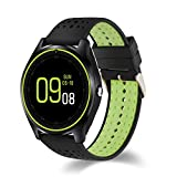 kaersishop Bluetooth Smartwatch durch Bluetooth Synchronismus Nachricht,Unterstützung Schlafmonitor/Schrittrechnung