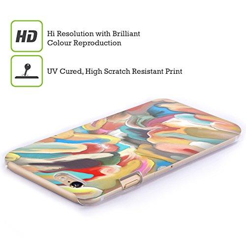 Ufficiale Giulio Rossi Astratto Collezione Pennellate Cover Retro Rigida per Apple iPhone 5 / 5s / SE Acrilico