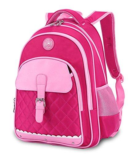 Keshi Nylon Cool Damen accessories hohe Qualität Einfache Tasche Schultertasche Freizeitrucksack Tasche Rucksäcke Rosa