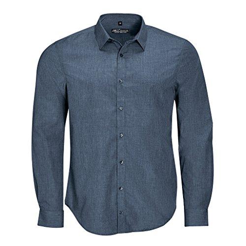 SOLS - Barnet - Camicia maniche lunghe - Uomo Erica Jeans