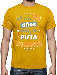 49ae03eae latostadora - Camiseta A Mis 50 Años Estoy de para Hombre