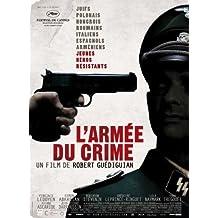 Pop Culture Graphics Póster de película el ejército del Crimen French en 11 x 17-