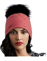 2590add1a6b9ac Willi Pom Pom Hat Balbina - Women's Wool Winter Hat, Ski Hat
