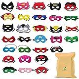DIY House Superhero Masks for Children Kids Party Masquerade,Mask for Children Adults Superhero Cosplay Party Eye Masks for Children Party Bags