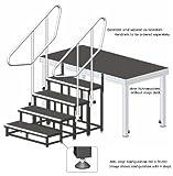 Modulare Treppe - Bühnentreppe - Treppenstufen, Anstelltreppe, Bühnenstufen - SM02- 1 Stufe, 20 cm