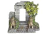 Nobby 28579 Aqua Ornaments Tor mit Drache und Pflanzen