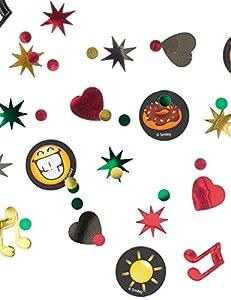 Amscan International Amscan 9901299 - Confeti para fiestas (1 unidad), diseño de emoticonos sonrientes
