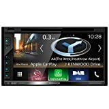 Kenwood DNX5180DABS–Double DIN DAB + Car Radio with Navigation and Apple CarPlay/Android/Bluetooth/Spotify, Waze