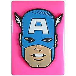 Cara del capitán América Molde de silicona para la torta de Decoración Pastel de Cupcake Toppers Glaseado Sugarcraft Tool por Fairie Blessings