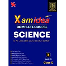 Xam Idea Complete Course Science for CBSE Class 10 - 2020 Exam