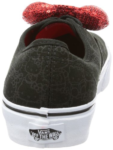 Vans U AUTHENTIC VTSV8MH Unisex-Erwachsene Sneaker Schwarz ((Hello Kitty) black/sequin bow)