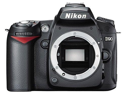 Nikon D90 SLR-Digitalkamera (12 Megapixel, Live-View, HD-Videofunktion) Gehäuse (Generalüberholt)