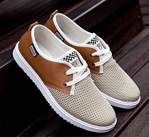 zhengjun  Fashion Sneakers, Herren Mokkasins Gelb