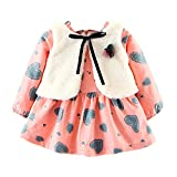 Ensemble Bébé Fille Binggong Ensemble Hiver Toddler Kids Baby Girls Boys Long...