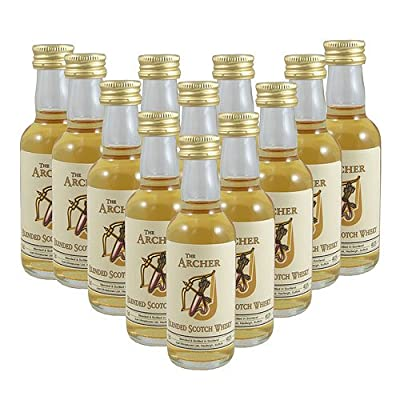 The Archer Scotch Whisky 5cl Miniature - 12 Pack by Just Miniatures