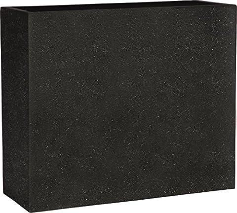 Esteras Blumenkübel, Smartline DALFSEN 65, schwarz, 25 x 65 x 55 cm, 8520506565