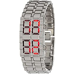 Watch Led Silver