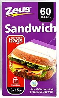 UBL Inside & Outside Flip Snack/Sandwich 125 Bags by MELLOW