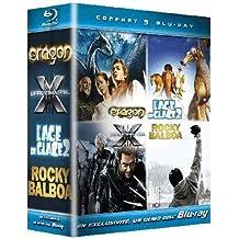 Coffret Monsterbox Fox 5 DVD : Age de glace 2 - Eragon - Rocky Balboa - X-men