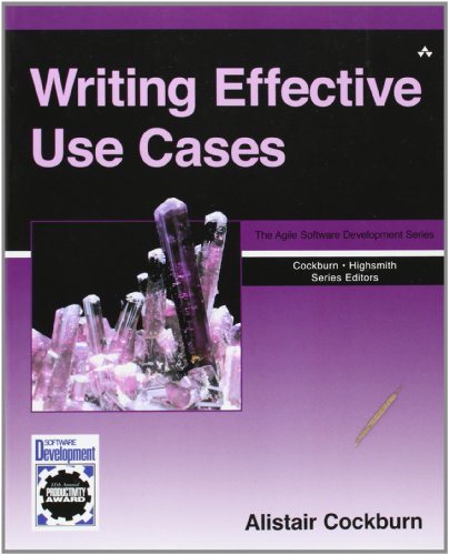 Writing Effective Use Cases (Agile Software Development Series)