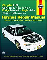 haynes chrysler lhs,concorde,new yorker-dodge intrepid and eagle vision  1993-97 haynes manuals: amazon.de: haynes, john: fremdsprachige bücher  amazon.de