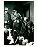 """Size Size of photo 8"""" x 10.1""""  Alun Armstrong, Niall O'Brien, Dinah Stabb, Maggie O'Neill and Bryan Dick. Alun Armstrong, Niall O'Brien, Dinah Stabb, Maggie O'Neill and Bryan Dick. This photograph originates from the International Magazine Serv..."""