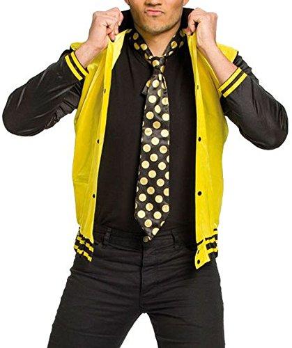 Folat 63355 Erwachsenenkostüm Rock und Roll, Jacke und Krawatte XL/XXL, ()