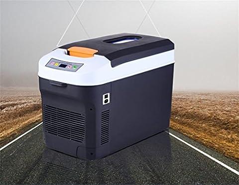 DZW 25L / 12L Dual Kernkühlung Auto Kühlschrank Auto Dual-Use Gefrorene Mini Mini Kühlschrank 24V für LKW Kühlung Heizung 28 * 52 * 26cm , 12l enhanced version home dual use
