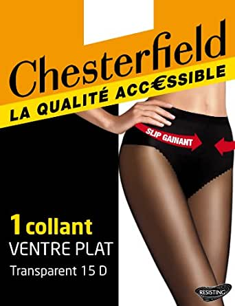 Chesterfield Ventre plat - Collants - Uni - Femme - Miel - 1