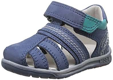 Mod8 Ivan, Chaussures Bébé marche bébé garçon, Bleu, 19 EU