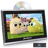 PUMPKIN Car Headrest DVD Player for Kids 10.1 Inch Monitor Support 1080P Video