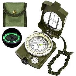 Etmury Boussole, Multifonctionnelle Portable Boussole, pour randonnée, Camping, Escalade, Exploration, géologie, activités de Plein air