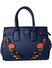 Cathy London Women's Handbag, Material- Synthetic Leather, Colour- Navy Blue