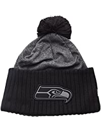 New Era NFL Grey Collection Pom Knit Pudelmütze